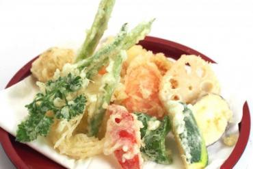 Studying Japanese makes tempura crispy vegetables to eat forever