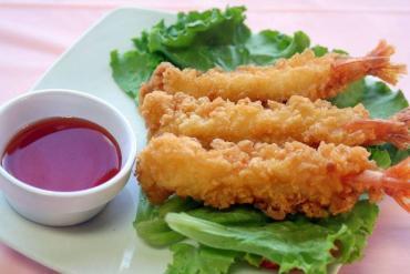 How to make fried shrimp tempura - Flour stick, sweet shrimp flavored