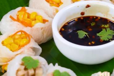Khám phá bánh cuốn kiểu Thái Lan