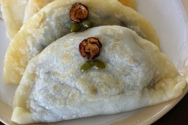 Cách làm bánh gạo chiên nhân đậu xanh mới lạ cực ngon