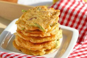 Korean kimchi pancake recipe