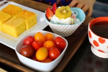 Cách làm bánh ngô vàng ươm thơm ngon cho bữa sáng