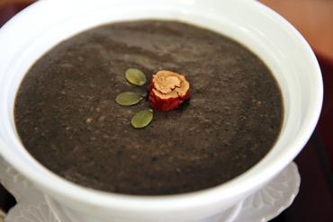 Cách làm cháo mè đen bổ dưỡng