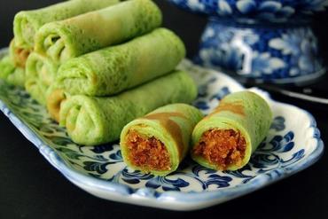 Cách Làm Bánh Kuih Dadar Lá Dứa- Món Bánh Của Người Đông Nam Á