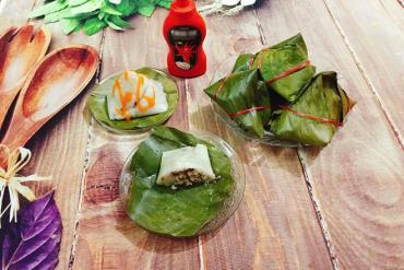 Homemade Delicious North Vietnamese Hot Gio Cake
