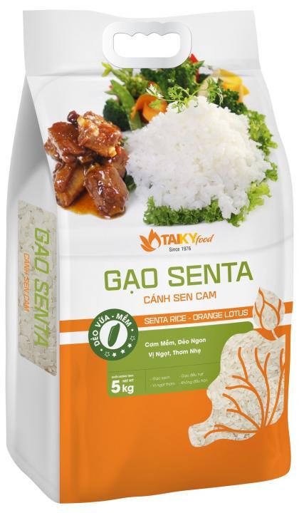 Gạo SENTA - Cánh Sen Cam