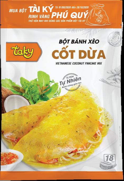 Bột Bánh Xèo Cốt Dừa